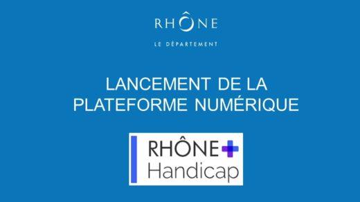 Département du Rhône - Une plateforme numérique dédiée au Handicap