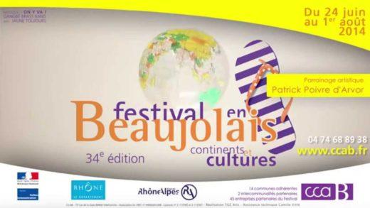 Festival en Beaujolais 2014 - Présentation