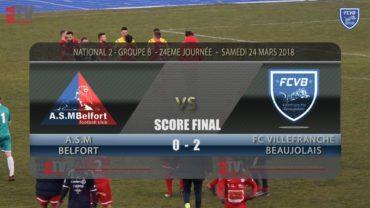 Foot A.S..M Belfort vs FCVB 24ème journée