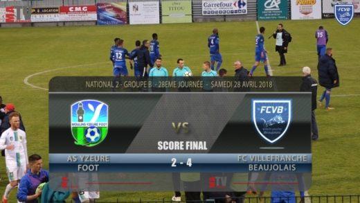 Foot - AS Yzeure vs FCVB 28ème journée
