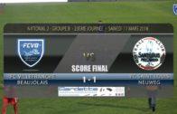 Foot – FCVB vs Saint Louis Neuweg  23ème journée