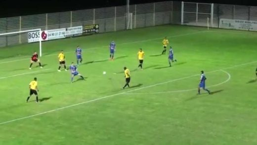 Football - LE PONTET / FCVB - 13 septembre 2014
