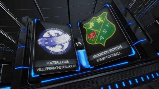 Football - Résumé FCVB / Yzeure 1-03-2014