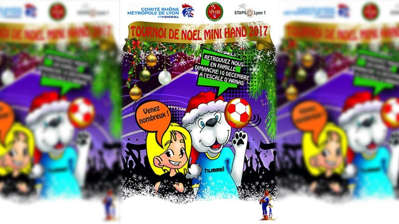 Handball – Tournoi de Noël 2017