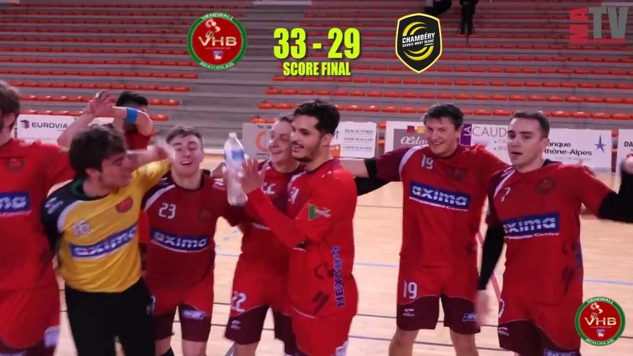 Handball – VHB vs Chambéry – 03/03/2018