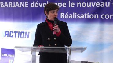 Lancement du chantier de la plateforme Action à Belleville