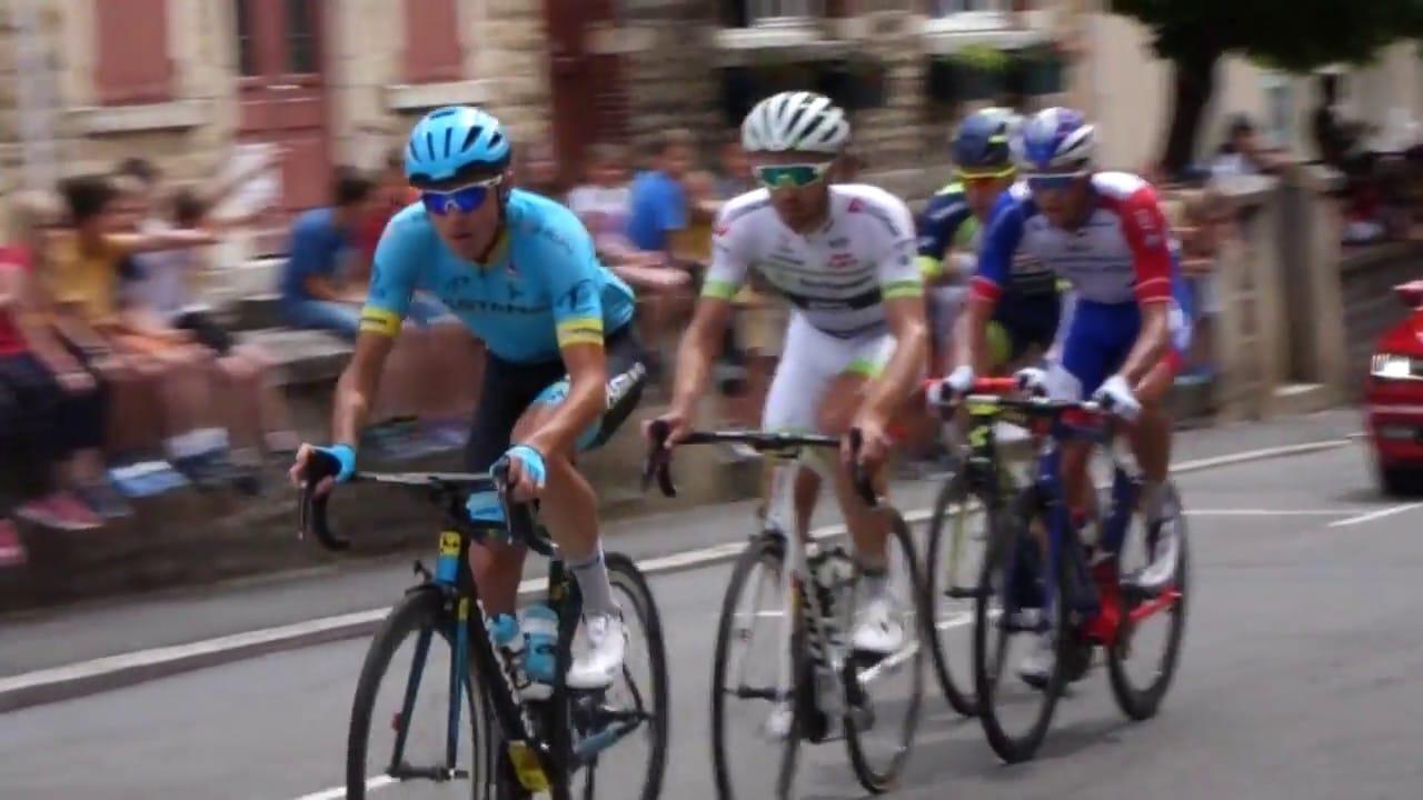 Le Critérium du Dauphiné en terre Beaujolaise