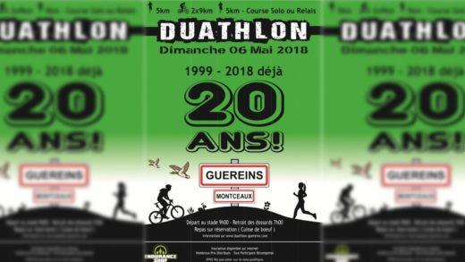 Le Duathlon de Guéreins fête ses 20 ans
