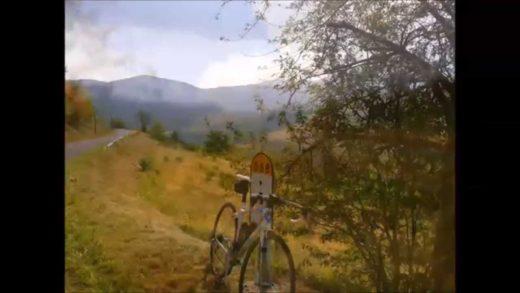 Paysages du Beaujolais au début de l'automne