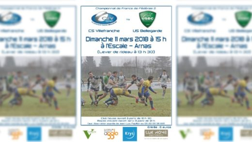 Rugby – CS Villefranche vs US Bellegarde