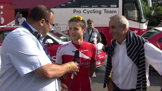 Tour de France 2013 - Entretien avec Rudy Molard et Robert Alban
