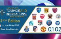 Tournoi international U15 2018