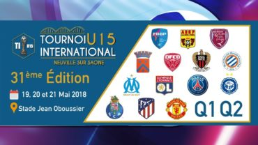 Tournoi international U15 2018